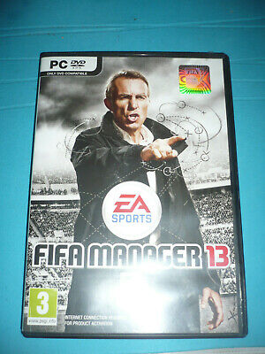 PC DVD FIFA MANAGER 2013 used RARE OOP Win XP Vista 7 French EA SPORTS for sale  Shipping to Nigeria