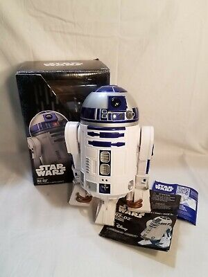"Star Wars Smart R2-D2 RC Bluetooth Smart Phone Remote Controlled 9"" Figure w/Box"