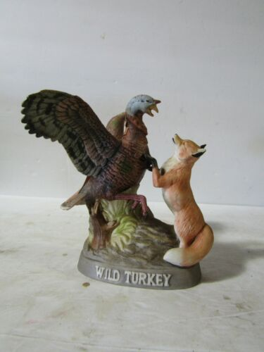 Wild Turkey & Red Fox Miniature Decanter