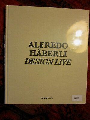 Alfredo Häberli,  Design Live,  signiertes Exemplar, NEU + NOCH EINGESCHWEISST