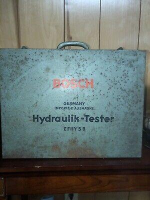 Bosch Hydraulik-tester Hydrotester 0681151002 Efhy 5 B Vintage