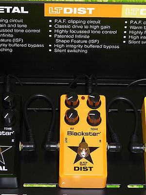 Blackstar LT Dist - Distortion Guitar Effects Pedal  - NEW!      -- LOWER PRICE!
