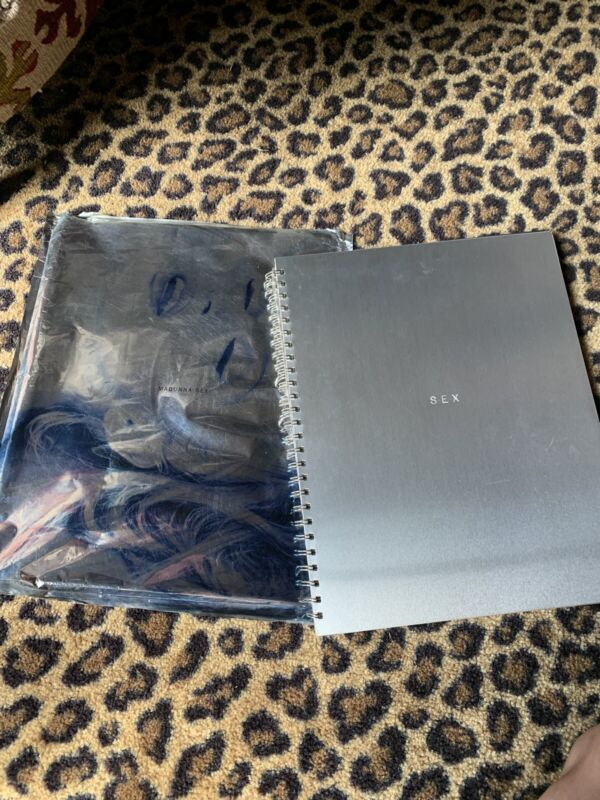 Madonna SEX 1st US Edition 1992 NUMBERED Mylar Wrapper Dita Booklet