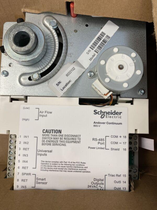 SCHNEIDER ELECTRIC ANDOVER CONTROLS I2865-V NEW