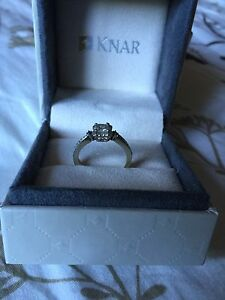 White Gold Engagement Ring Cambridge Kitchener Area image 2