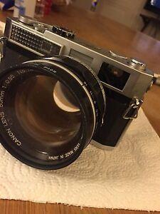 Canon model 7 objectif 50mm 1/0,95... Mythique - France - État : Occasion: Objet ayant été utilisé. Objet présentant quelques marques d'usure superficielle, entirement opérationnel et fonctionnant correctement. Il peut s'agir d'un modle de démonstration ou d'un objet retourné en magasin aprs une - France