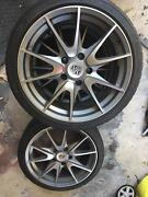 "19"" Porsche alloy wheels with new tyres - fits 911 - Boxster - VW Avoca Beach Gosford Area Preview"