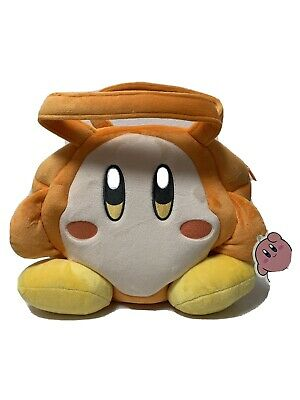 Nintendo Licensed Kirby Waddle Dee Plush Style Hand Tote Bag By SK Japan