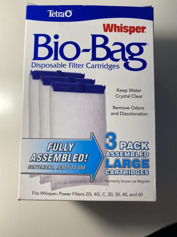 Tetra Whisper Bio-Bag Cartridge Large 3pk Assembled: Free Shipping!