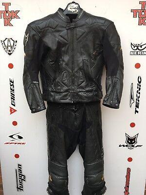 "Wolf kangaroo 2 piece suit without hump uk 44 Euro 54 jacket and 32"" waist jeans (Kangaroo Suit)"