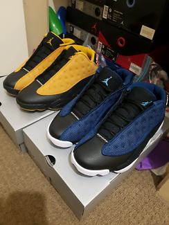 Men's jordan 13 brave blue and Chutney size 8.5-9US 100%authentic