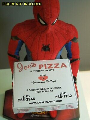 1/6 scale Custom Joes Pizza Box for Spiderman Peter Parker - Spiderman Customes