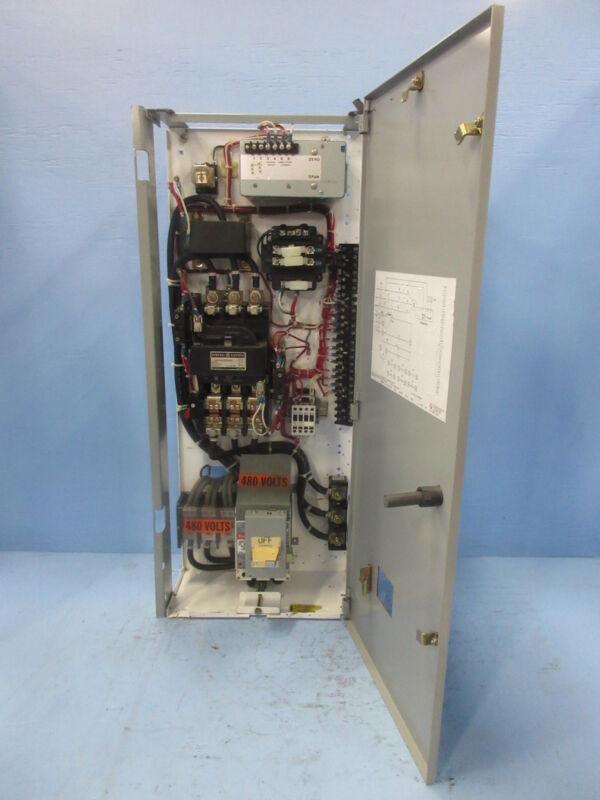 "General Electric GE 8000 Size 4 Starter 150 Amp Breaker Type 36"" MCC Bucket 150A"