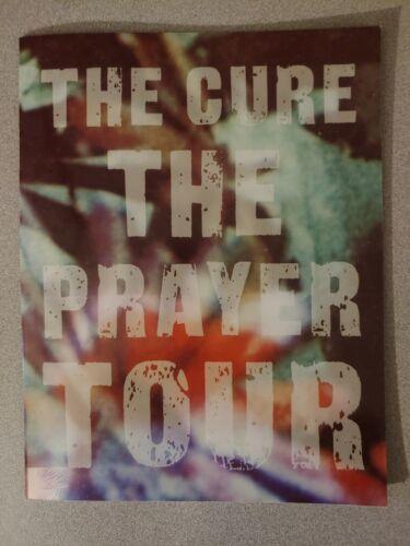 THE CURE 1989 THE PRAYER TOUR Concert Program Book Original Vintage