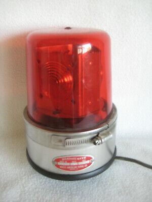 Vintage Action-lite 115 Volt Emergency Lamp Light Red Signal Business Warning