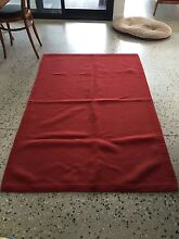 Red ribbed rug for sale Northgate Brisbane North East Preview