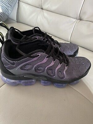 Nike Air Vapormax Plus Size 8 Black/Purple EUR 42 Unisex Mens Ladies
