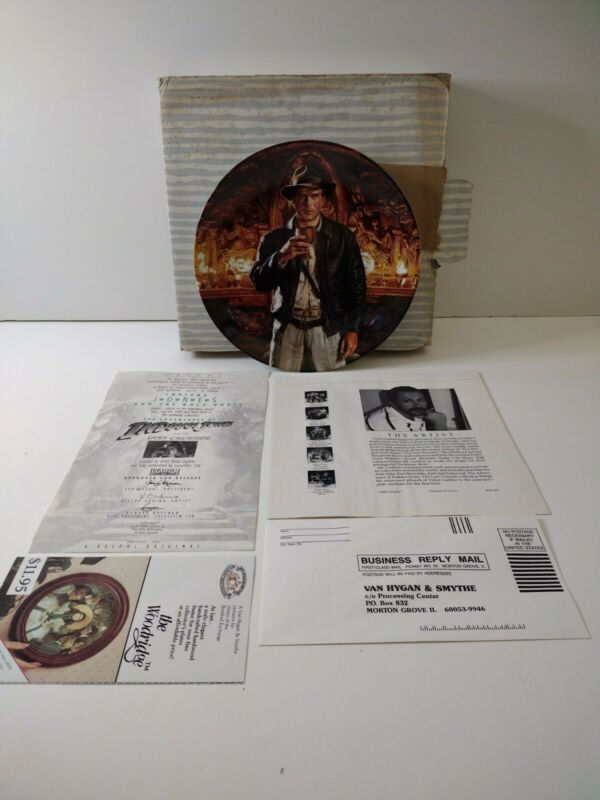 Delphi 1991 Indiana Jones And The Holy Grail Plate 4019A Plate 6