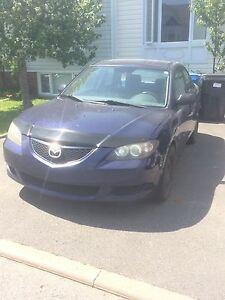 Mazda 3 2004 - 134 000km manuelle