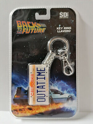 BACK TO THE FUTURE - Metal Keychain - OUTATIME Porte-clés