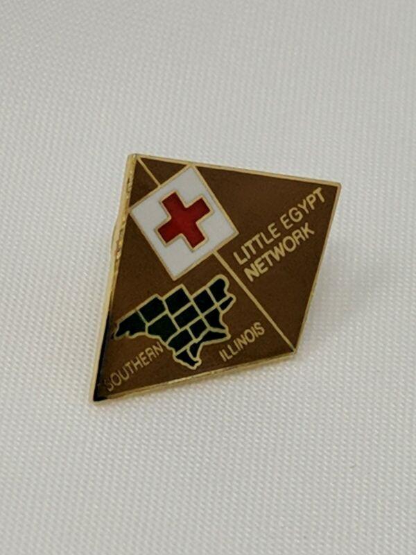 American Red Cross ARC Pin Southern Illinois Little Egypt Network Bin 8/6