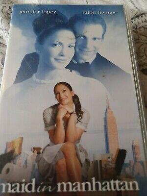 Maid In Manhattan Jennifer Lopez Vhs