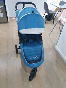 EUC Baby Jogger City Mini GT pram Stroller Teal/Grey RRP$799
