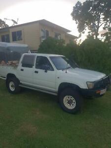 1991 toyota hilux dualcab turbo diesel