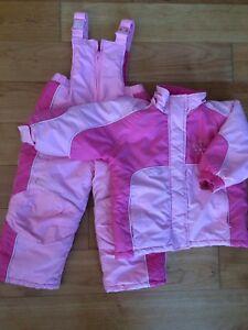Size 2 Snow Set Pink Jacket & Snowpants