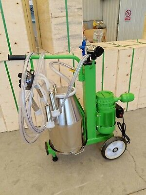 4mul8 Machinery Oil-free Vacuum Pump Milking Machine Cows - Single Tank Extras