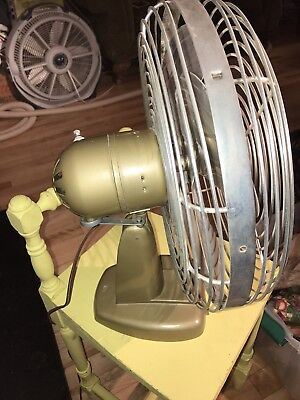 Vintage Antique Kord Desk Fan N.O.S. IN ORIGNALBOX  Art Deco Retro Modern