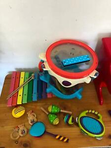 Kids toys- musical set, puzzle, games