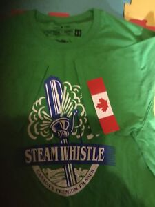 Steamwhistle T-shirt Brand New With Tag SIZE LARGE