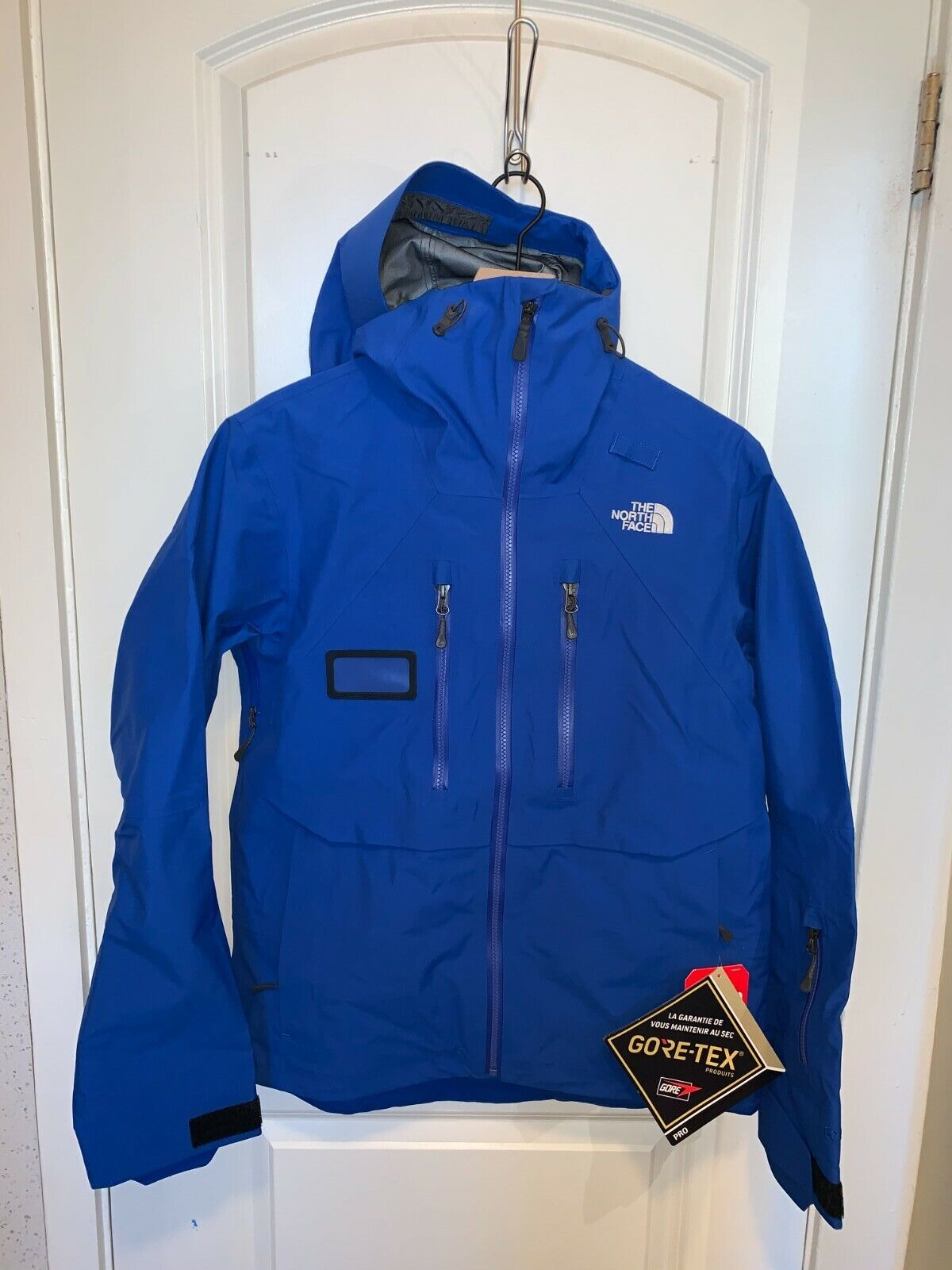 NWT The North Face Men's Mountain Pro Jacket GORE-TEX BLUE M