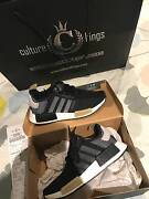 AUTHENTIC LIMITED ADIDAS NMD BLACK/WHITE/BEIGE -US 6 Southbank Melbourne City Preview
