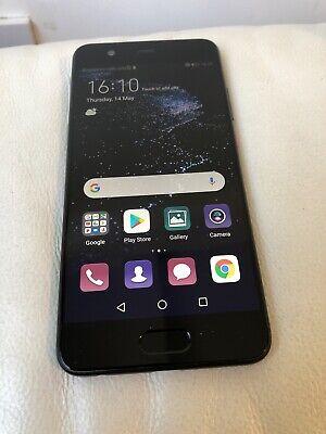 Huawei P10 P VTR-L29 Black 64GB Unlocked Smartphone Very GOOD Condition