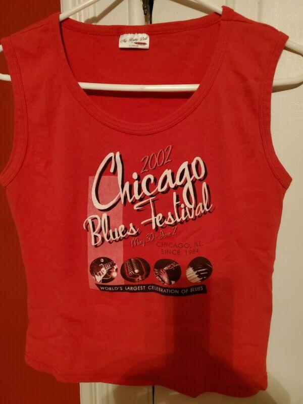 2002 Chicago Blues Festival Tshirt