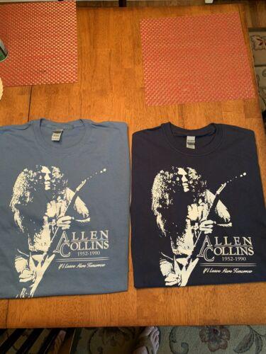 Allen Collins Of LYNYRD SKYNYRD LOT Of 2 NEW T-Shirts..size XL. Free Bird !!