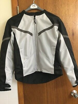 Used, EXcellent Condition Men's FIRST GEAR Padded & Lined Riding Jacket Gray & Black  for sale  Shipping to India