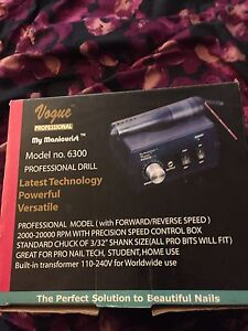 Vogue professional nail drill 6300