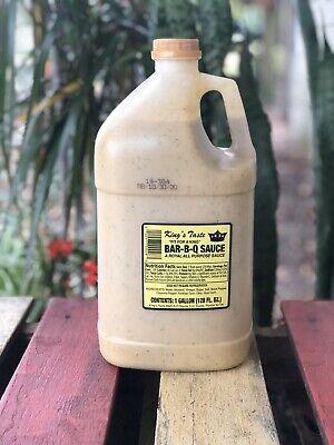 King's Taste Bar-B-Q Sauce 1-Gallon/128oz. Eustis, FL Best BBQ Contest Sauce