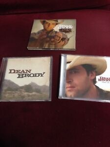 Dean Brody autographed cd