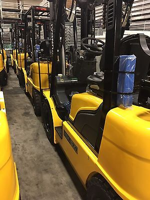 Hyundai Forklift 5000 Lbs Used Lease 60 Months For 470.00 Warranty