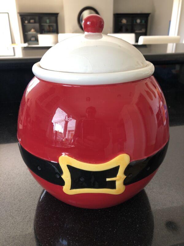 🎅🏼 Large Santa Christmas Cookie Jar