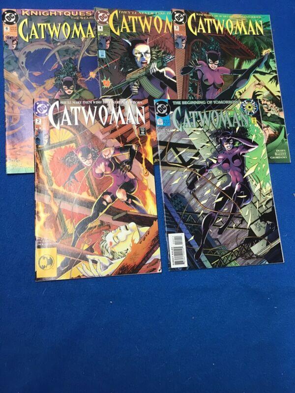 DC: Catwoman Comic Lot (5) VF