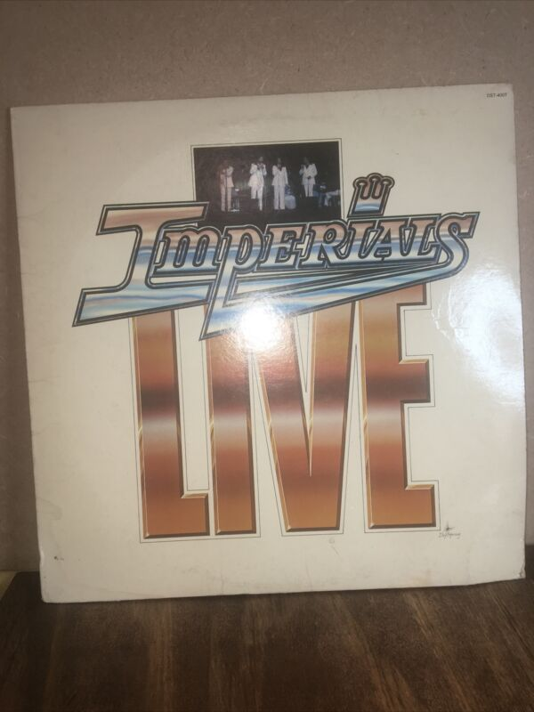 IMPERIALS LIVE 1978 USEDvinyl LP