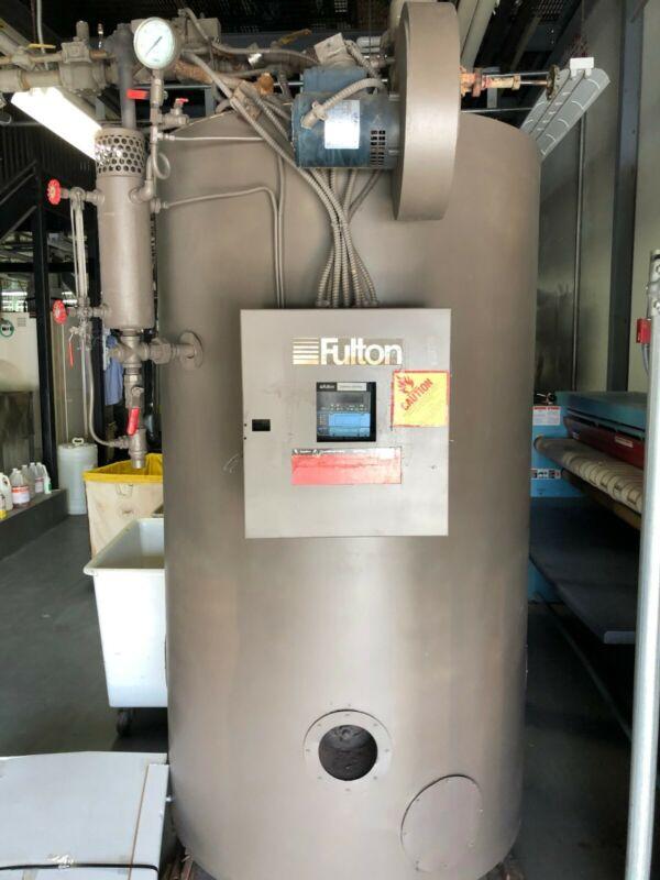 fulton boiler FB-030-A 30HP classic vertical