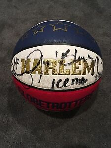 Globetrotters signed basketball
