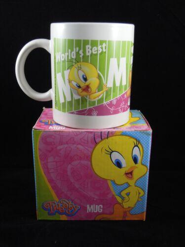 """Looney Tunes Tweety Bird Ceramic Mug/Tea Cup """"World"""