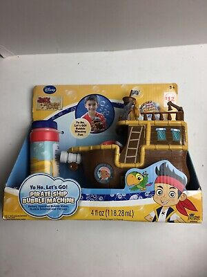 Jake And The Neverland Pirate Ship (Disney Jake and the Neverland Pirates Bubble Pirate Ship New In)